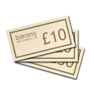 Barons Gift Vouchers