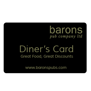 Baron's Diner's Card