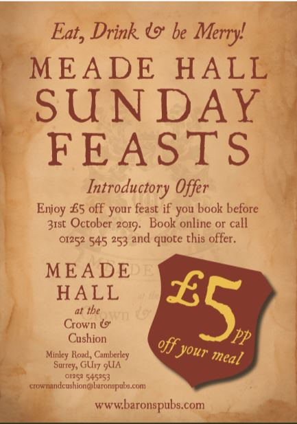 Meade Hall Sunday Feast