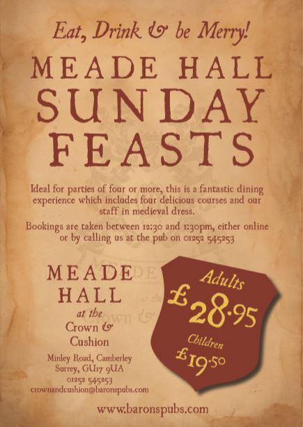 Meade Hall Sunday Feast