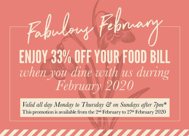 Fabulous February Offer