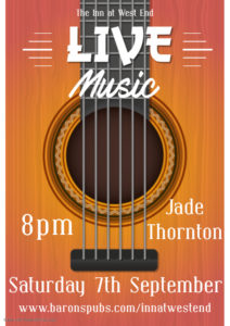Image for Live Music at The Inn with Jade Thornton