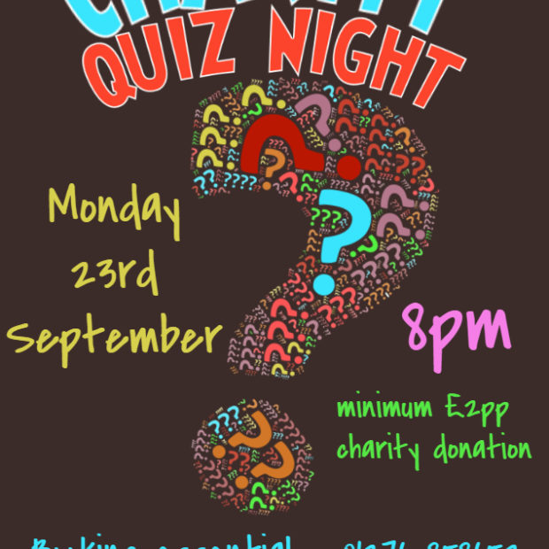 Image for Date for your diary – next Quiz Night
