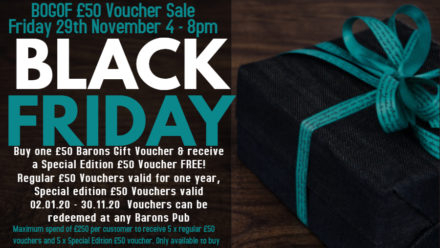 Black Friday Voucher Sale!