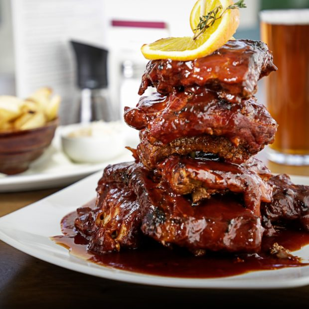 Image for Now serving our famous BBQ Ribs