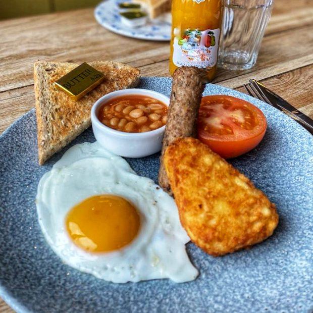Image for Serving Children's Breakfast at The Inn