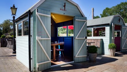 Photo of Our Dining Huts!
