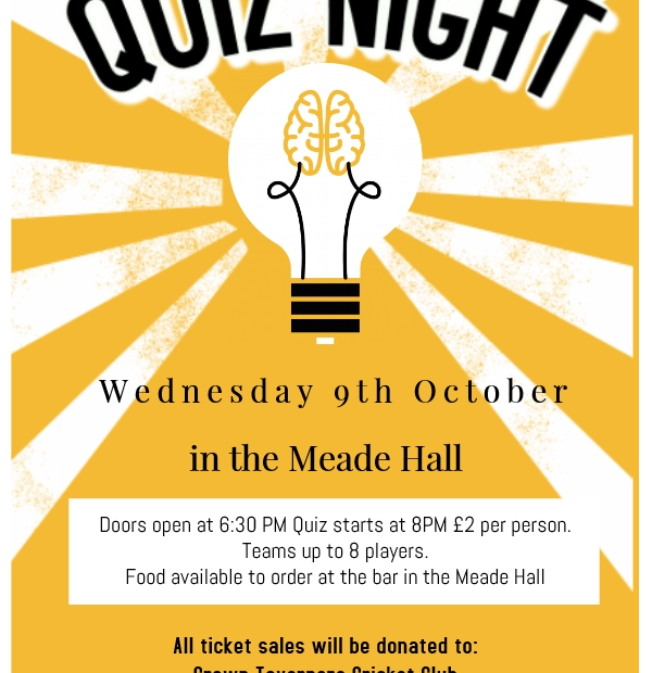 Image for Charity Quiz Night at the Meade