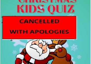 Cancelled – Christmas Kid's Quiz