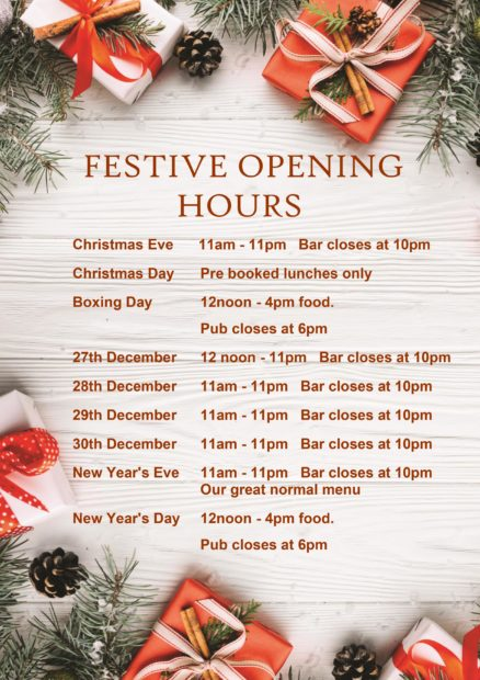 Image for Christmas at The Bletchingley Arms