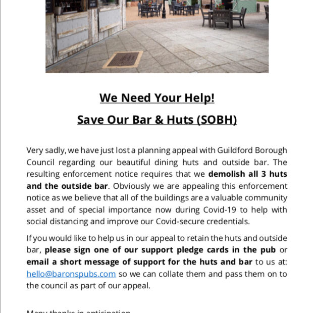 Image for We need your help please!